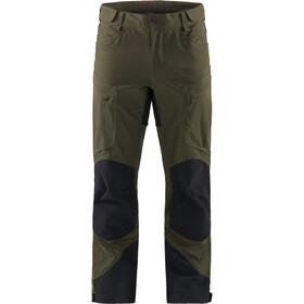 Haglöfs Rugged Mountain Pants Men deep woods/true black